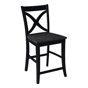 International Concepts Cosmo Crossback Counter Stool