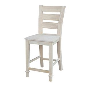 International Concepts Tuscany Ladderback Counter Stool