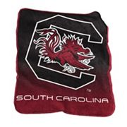 Logo Brand South Carolina Gamecocks Raschel Throw Blanket