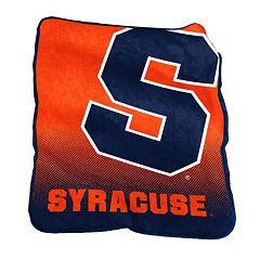 Logo Brand Syracuse Orange Raschel Throw Blanket