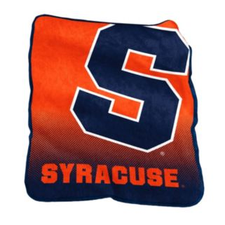 Logo Brand Syracuse Orange Raschel Throw Blanket