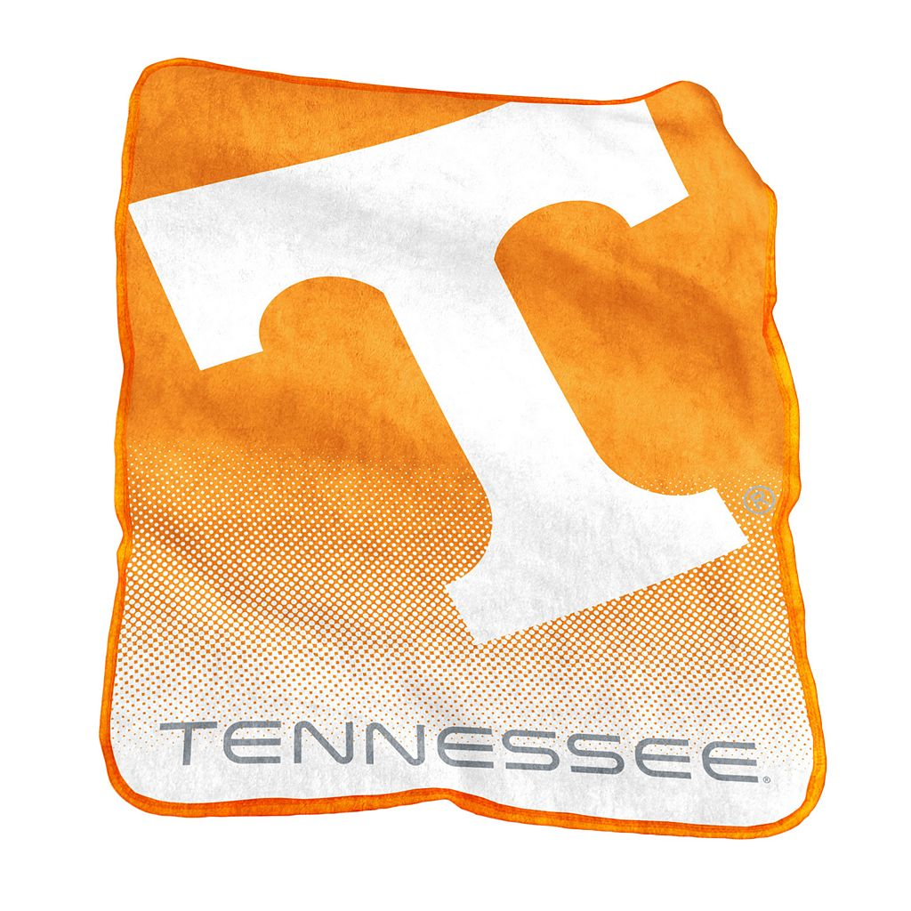 Logo Brand Tennessee Volunteers Raschel Throw Blanket