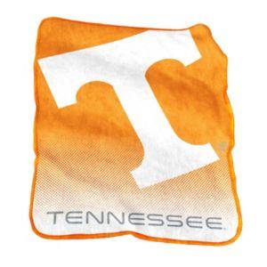 Logo Brand Tennessee Volunteers Raschel Throw Blanket