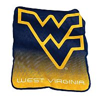 Logo Brand West Virginia Mountaineers Raschel Throw Blanket