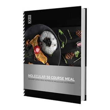 Molecule-R Molecular 50 Course Meals Cookbook