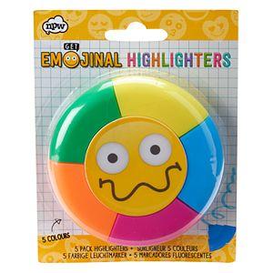 Emoji 5-pk. Highlighters