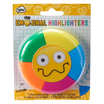 Emoji 5-pk. Highlighters