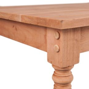 Harwich Unfinished Wood Coffee Table