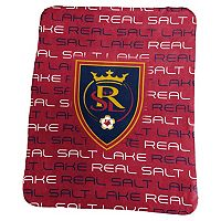 Logo Brand Real Salt Lake Classic Fleece Blanket