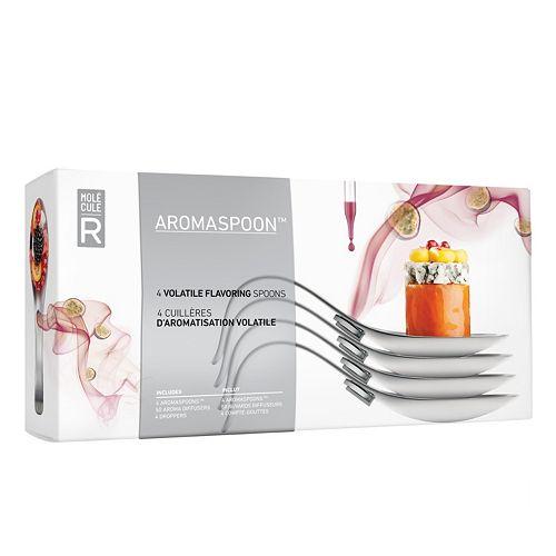 Molecule-R Aromaspoons Volatile Flavoring Spoon 4-pk.
