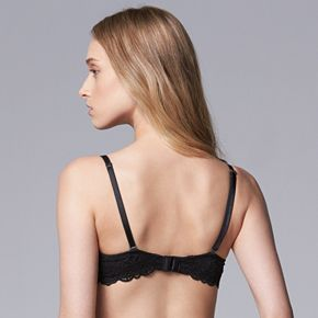 Women's Simply Vera Vera Wang The Ultimate Demi Bra with Lace
