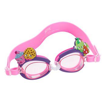 Kids Shopkins Cupcake Chic, Kooky Cookie & Apple Blossom Swim Goggles