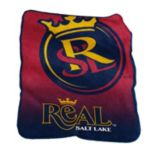 Logo Brand Real Salt Lake Raschel Throw Blanket