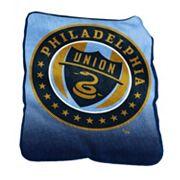 Logo Brand Philadelphia Union Raschel Throw Blanket