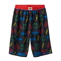 Boys 4-16 DC Comics Justice League Lounge Shorts