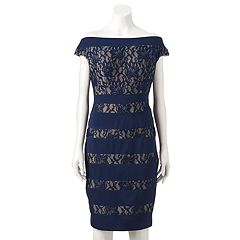 Women's Jax Lace Off-the-Shoulder Sheath Dress
