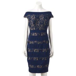 Women's Jax Lace Off-the-Shoulder Sheath Dress