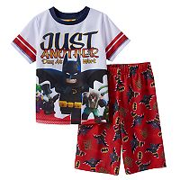 Boys 4-12 The Lego Batman Movie 2-Piece Pajama Set