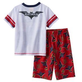 Boys 4-12 The Lego Batman Movie 2-Piece Pajama Set