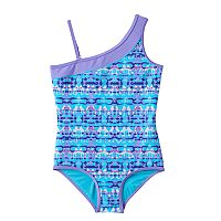 Girls 7-16 Free Country Asymmetrical One-Piece Swimsuit