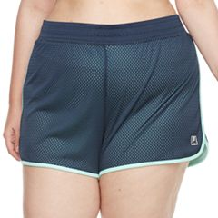 Plus Size FILA SPORT® Academy Mesh Performance Shorts