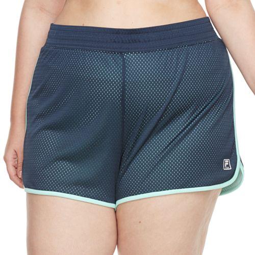 Plus Size FILA SPORT® Academy Mesh Performance Shorts