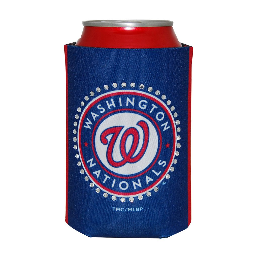 Washington Nationals Bling Can Cooler