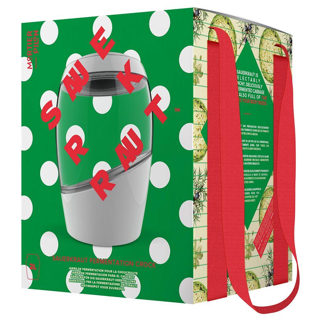 Mortier Pilon 2-Liter Fermentation Crock Sauerkraut Special Edition