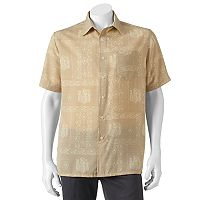 Men's Croft & Barrow® Classic-Fit Island Microfiber Button-Down Shirt