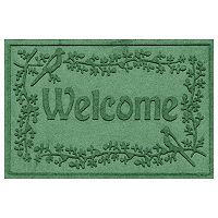 WaterGuard Bird on a Branch ''Welcome'' Indoor Outdoor Mat - 24'' x 36''