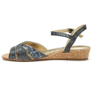 Soft Style by Hush Puppies Midnite Women's Wedge Sandals