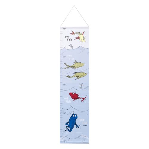 Dr. Seuss One Fish, Two Fish Growth Chart by Trend Lab