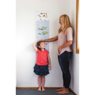 """Dr. Seuss """"One Fish, Two Fish"""" Growth Chart by Trend Lab"""