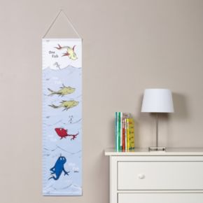 "Dr. Seuss ""One Fish, Two Fish"" Growth Chart by Trend Lab"
