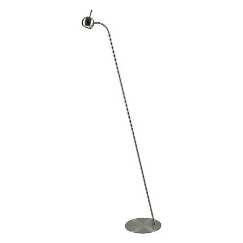 Kenroy Home Brushed Steel Floor Lamp