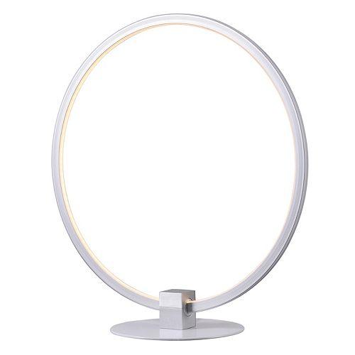 Kenroy Home White Open Circle Table Lamp