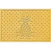 WaterGuard Diamonds Pineapple Indoor Outdoor Mat - 24'' x 36''