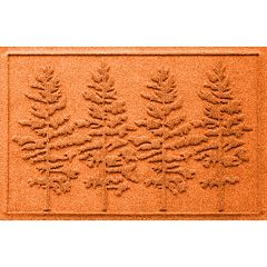 WaterGuard Fir Forest Indoor Outdoor Mat - 24'' x 36''