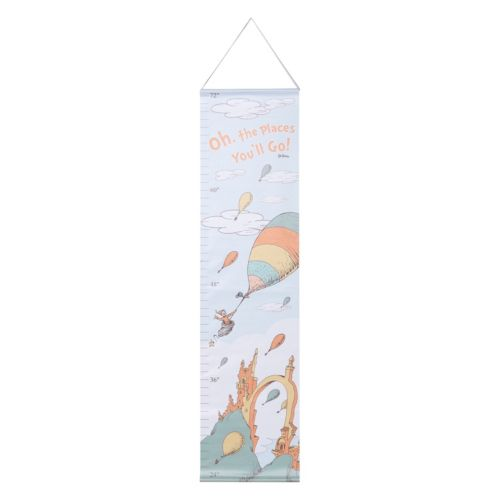 "Dr. Seuss ""Oh, the Places You'll Go!"" Mint Growth Chart by Trend Lab"