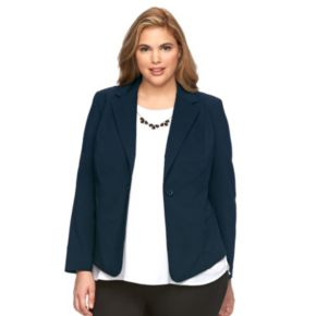 Plus Size Apt. 9® Millennium Solid Jacket
