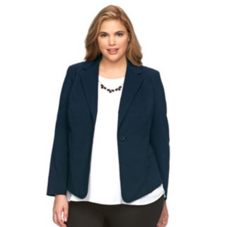 Plus Size Apt. 9® Millennium Solid Jacket