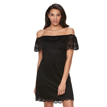 Women's Ronni Nicole Off-the-Shoulder Lace Dress