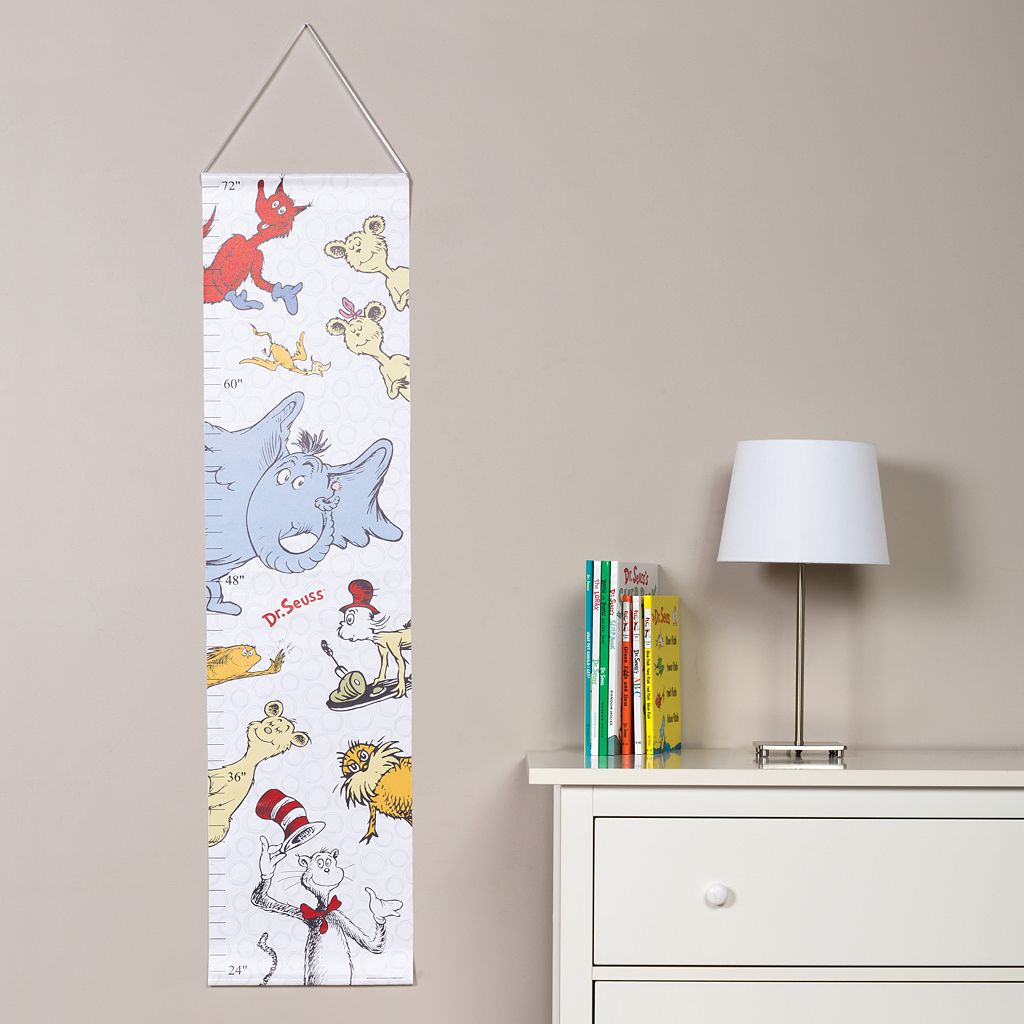 Dr. Seuss Friends Growth Chart by Trend Lab