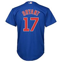 Boys 8-20 Majestic Chicago Cubs Kris Bryant Replica Jersey