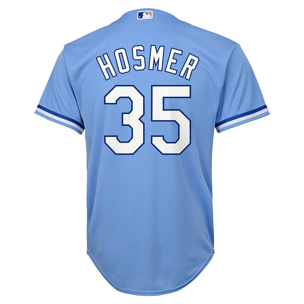 Boys 8-20 Majestic Kansas City Royals Eric Hosmer Replica Jersey