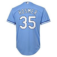 Boys 8-20 Majestic Kansas City Royals Eric Hosmer Replica Jersey