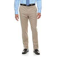 Men's Apt. 9® Premier Flex Extra-Slim Fit Flat-Front Tan Suit Pants