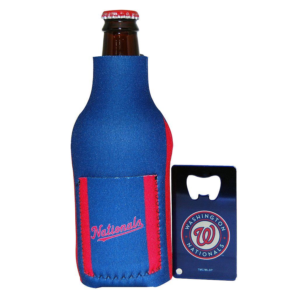 Washington Nationals Bottle Cooler with Opener