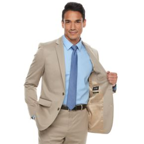 Men's Apt. 9® Premier Flex Extra-Slim Fit Tan Suit Coat