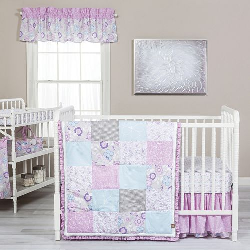 Trend Lab Grace 5 Pc Crib Bedding Set